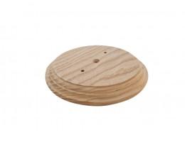Рамка деревянная фигурная однопостовая большая (D-120mm)