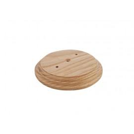 Рамка деревянная фигурная однопостовая малая (D-110mm)