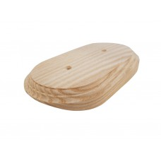 Рамка деревянная фигурная двухпостовая (110х190mm) на бревно 240 мм