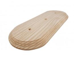 Рамка деревянная фигурная трехпостовая (110х270mm)