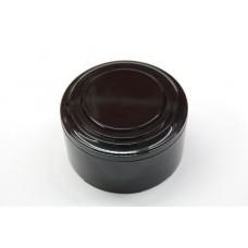 Пластиковая распаячная коробка (черная заглушка, черная рамка, черный стакан)