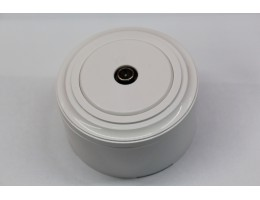 TV-розетка (белый механизм, белая рамка, белый стакан)