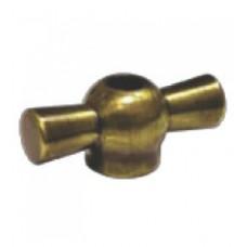 Металлический тумблер поворотного выключателя (бронза)