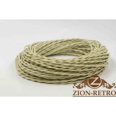 Ретро провод слоновая кость 2х2,5