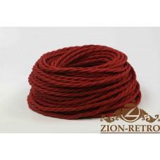 Ретро провод красный 3х2,5