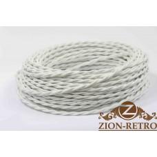 Ретро провод белый 2х2,5