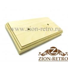 Рамка квадратная 2-постовая на бревно диаметром 280 мм