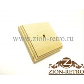 Рамка квадратная 1-постовая на бревно диаметром 220 мм