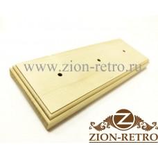 Рамка квадратная 3-постовая на бревно диаметром 280 мм
